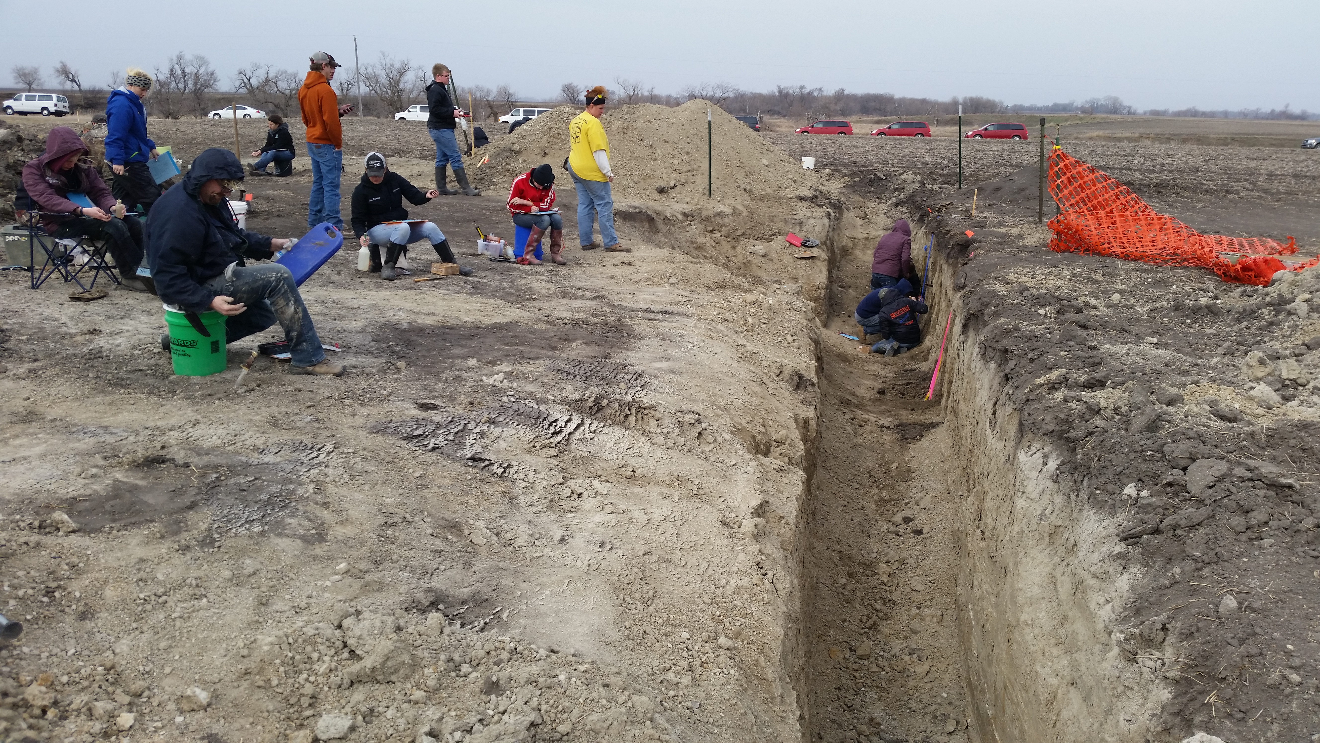 Photo gallery for Soil judging